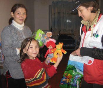Flood-Almaty province-March2010-KazRCS